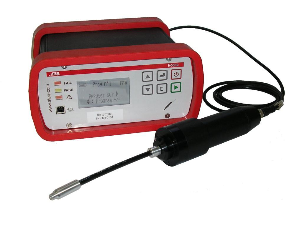 ATEQ H6000 – Wodorowy detektor i lokalizator nieszczelności