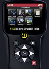ATEQ VT56 | System monitorowania ciśnienia w oponach samochodowych (T.P.M.S.)