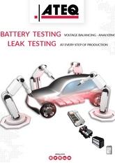 Testy baterii | Kontrola szczelności i testy elektryczne baterii do samochodów elektrycznych