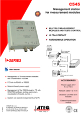 MODEL C545 | Jednostka sterująca głowicami pomiarowymi