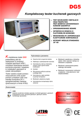 MODEL DG5 | Wielofunkcyjny detektor nieszczelności i przepływomierz