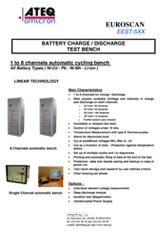 MODEL EEST-5XX | Automatyczna stacja testowa dla akumulatorów i baterii