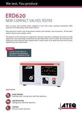 ATEQ ERD620 | Przepływomierz, tester reakcji na ciśnienie