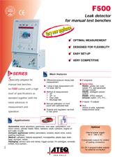 MODEL F500 | Detektor nieszczelności