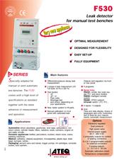 ATEQ F530 | Detektor nieszczelności