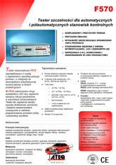 MODEL F570 | Detektor nieszczelności