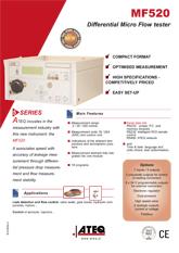 ATEQ MF520 | Detektor nieszczelności