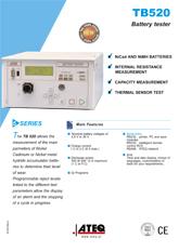 MODEL TB520 | Tester akumulatorków NiCd i NiMH