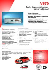 ATEQ V570 | Tester objętości