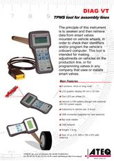 ATEQ VT | System T.P.M.S. do linii produkcyjnych
