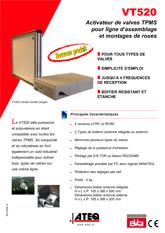 ATEQ VT520 | System T.P.M.S. do linii produkcyjnych