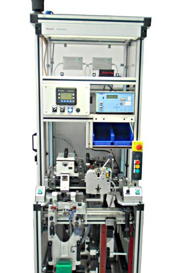 Stanowisko montażu oraz testu szczelności amortyzatora