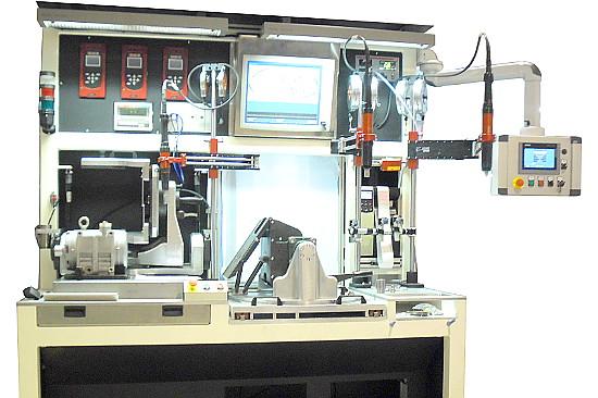 Stanowisko montażu oraz testu szczelności kompresora