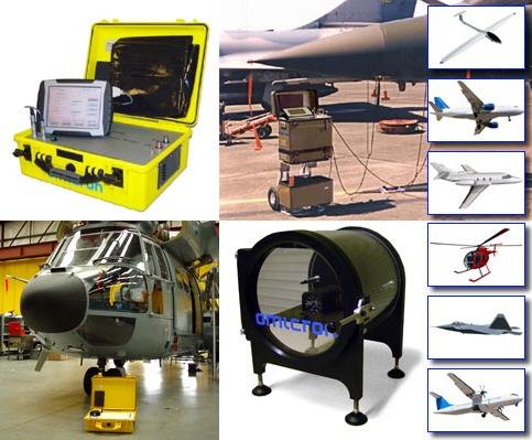 ATEQ-OMICRON – Urządzenia do obsługi i kalibracji aparatury pokładowej sprzętu latającego