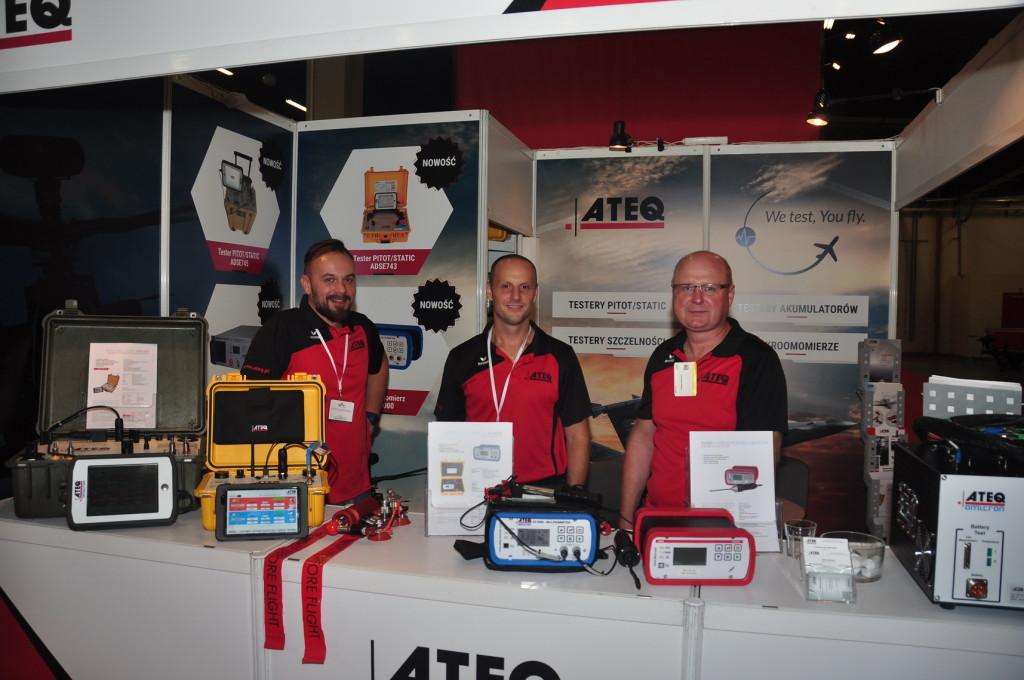 ATEQ na XXIII Międzynarodowym Salonie Przemysłu Obronnego MSPO Kielce