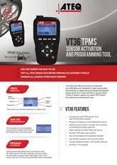 ATEQ VT36 | System monitorowania ciśnienia w oponach samochodowych (T.P.M.S.)