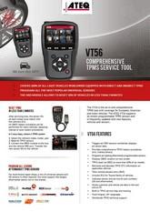 ATEQ VT56 OBDII | System monitorowania ciśnienia w oponach samochodowych (T.P.M.S.)