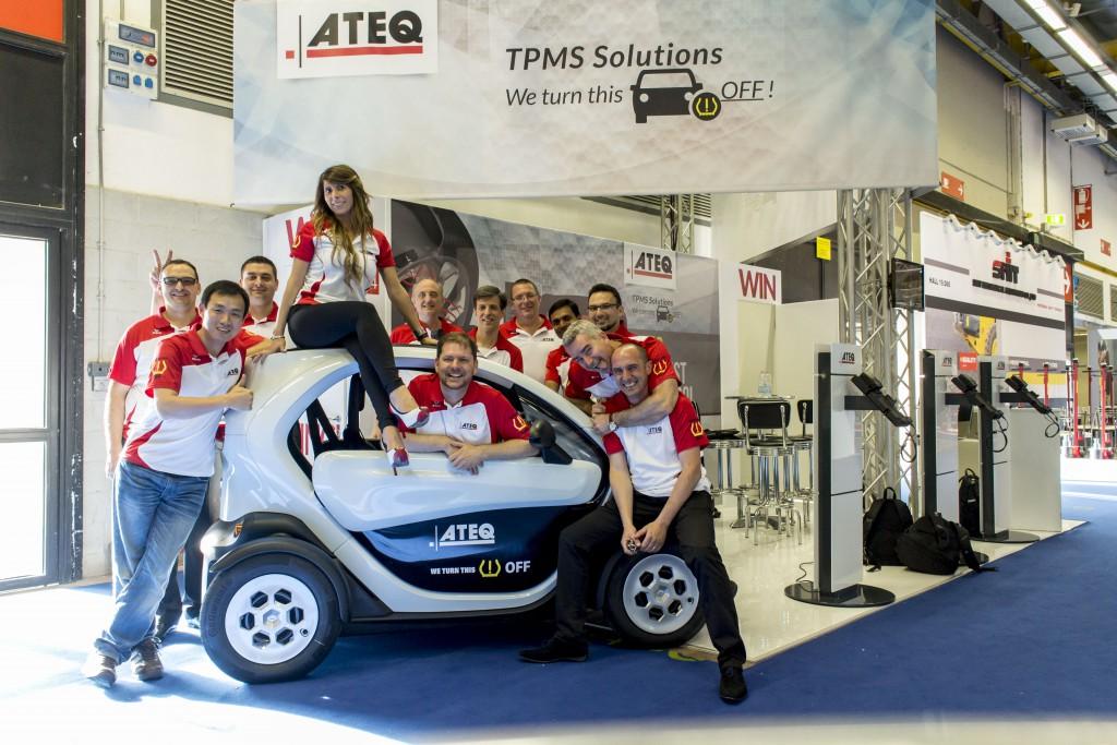 ATEQ T.P.M.S. na międzynarodowych targach motoryzacyjnych AUTOPROMOTEC w Bolonii
