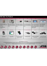 ATEQ Seria 6 | Zestawienie aparatury pomiarowej i wyposażenia ATEQ