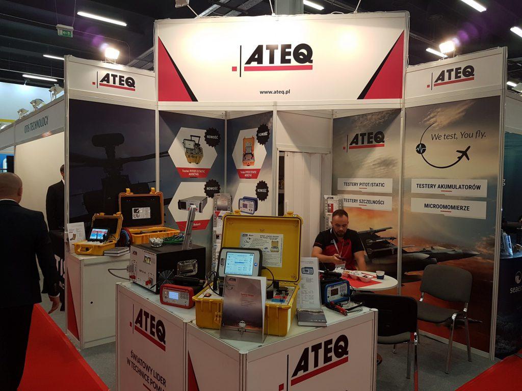 ATEQ na XXIV Międzynarodowym Salonie Przemysłu Obronnego MSPO Kielce