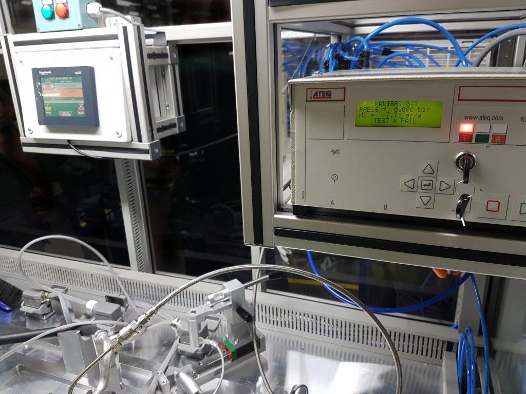 Wodorowa kontrola szczelności przewodów do klimatyzacji