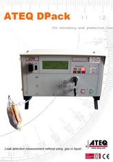 MODEL D-PACK | Detektor nieszczelności opakowań