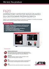 ATEQ F620 | Detektor nieszczelności
