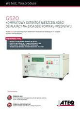 ATEQ G520 | Detektor nieszczelności