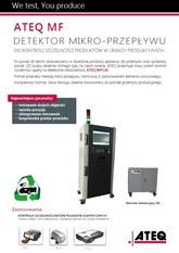 MODEL MF | Detektor nieszczelności