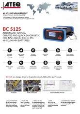 ATEQ BC512S | Automatyczny przemysłowy tester akumulatorów
