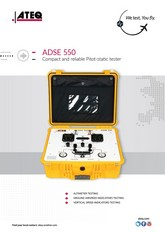 ATEQ ADSE 550 | Tester Pitot-Static