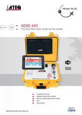 ATEQ ADSE 650 | Tester Pitot-Static