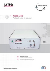 ATEQ ADSE 740 | Tester Pitot-Static