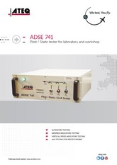ATEQ ADSE 741 | Tester Pitot-Static