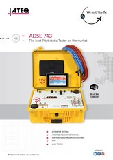 ATEQ ADSE 743 | Tester Pitot-Static