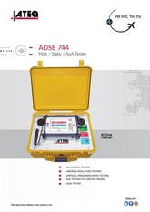 ATEQ ADSE 744 | Tester Pitot-Static