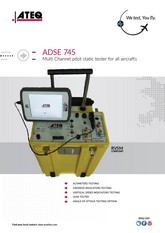 ATEQ ADSE 745 | Tester Pitot-Static