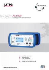 ATEQ AX6000 | Przenośny mikroomomierz do badań ciągłości elektrycznej