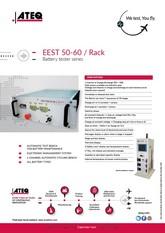 ATEQ EEST 50-60 Rack | Automatyczna stacja testowa dla akumulatorów i baterii