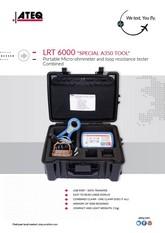 ATEQ LRT6000 | Tester rezystancji w pętli (looptester)