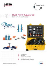 PSAT PS/PT Adaptor Kit | Adaptery Pitot-Static ATEQ/Cobra Systems