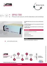 ATEQ SPVU 700 | Pompa podciśnienia i nadciśnienia