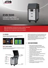 ATEQ EVB5100 | Balanser modułów baterii do pojazdów elektrycznych