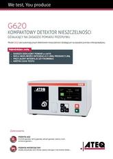 ATEQ G620   Detektor nieszczelności