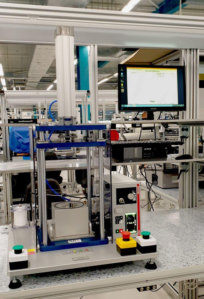 Testy szczelności elektronicznych liczników do wody z identyfikacją produktu przez NFC