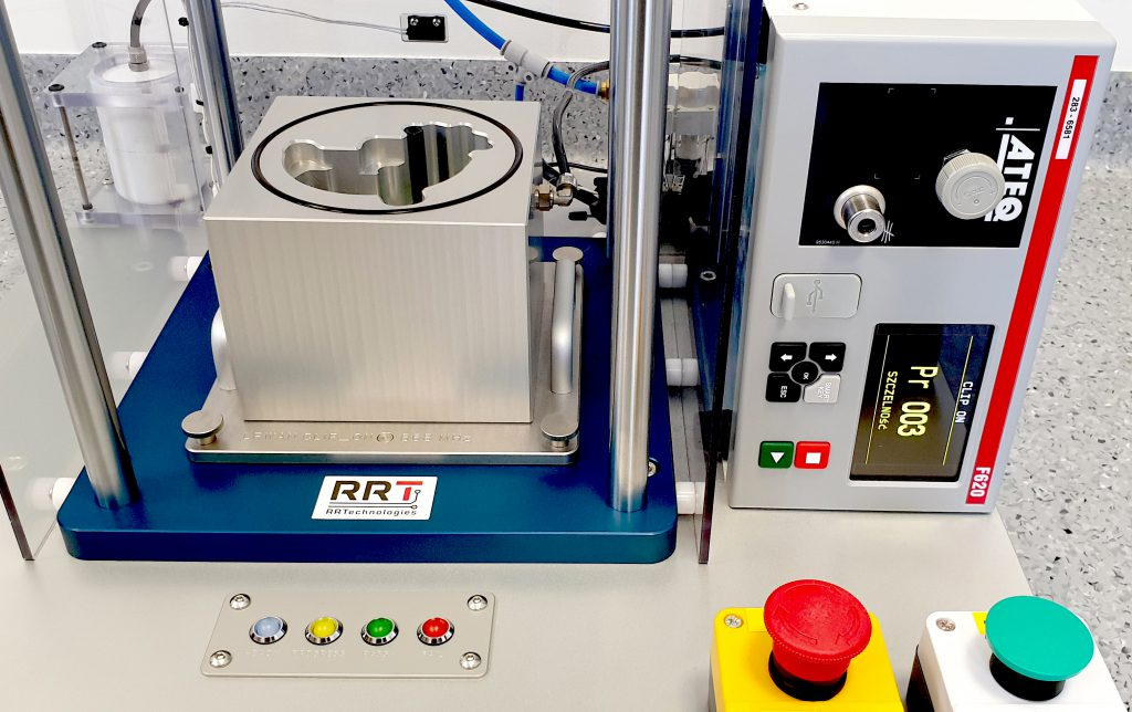 Badanie szczelności elektronicznych liczników do wody z identyfikacją produktu przez NFC