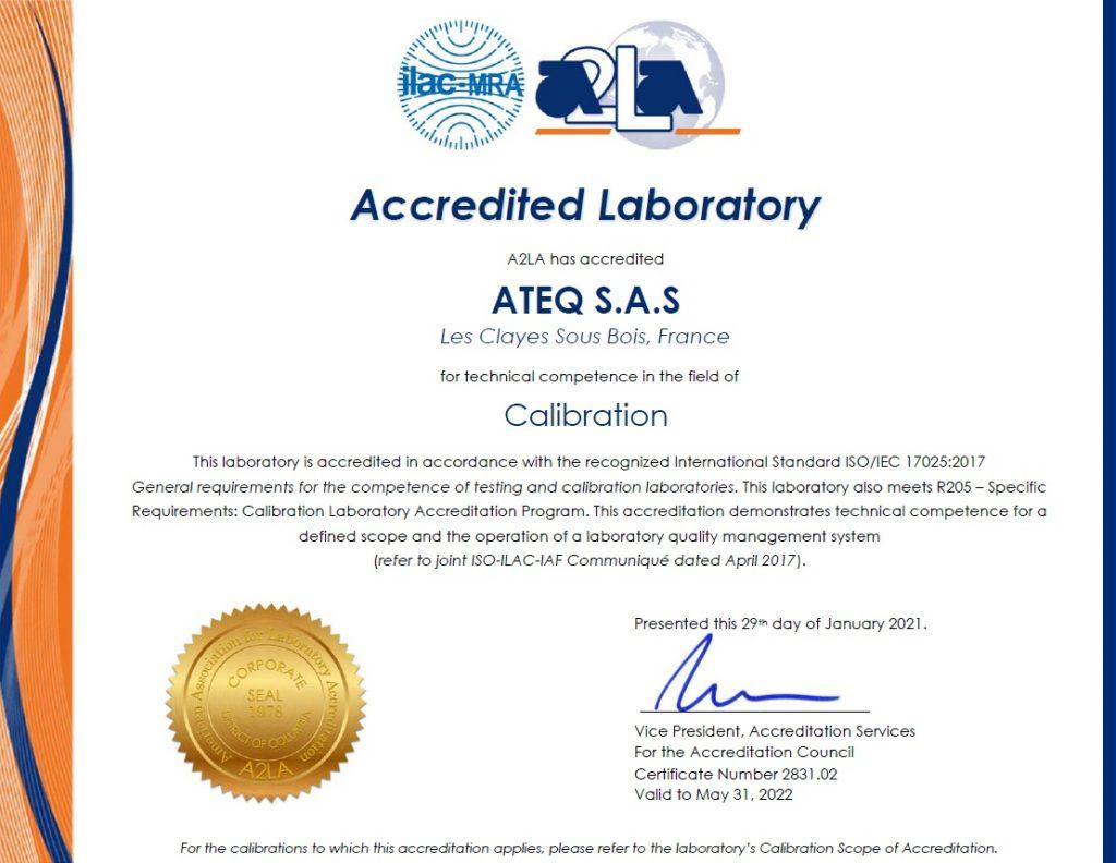 Akredytacja ISO/IEC 17025:2017
